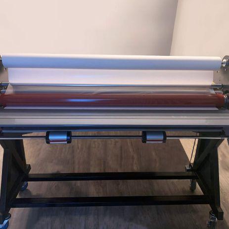 Laminator at Printing Unlimited print shop