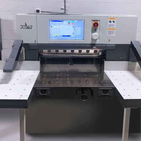 Polar Cutter cutting system at Printing Unlimited print shop