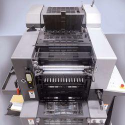 Heidelberg Printmaster offset printing press at Printing Unlimited print shop