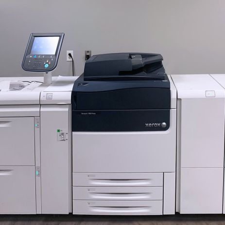 Xerox Versant 180 full colour digital press at Printing Unlimited print shop