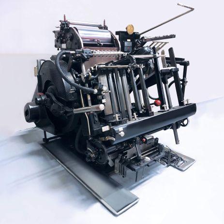 Windmill - Heidelberg Tiegel Platen die cutting printer at Printing Unlimited print shop