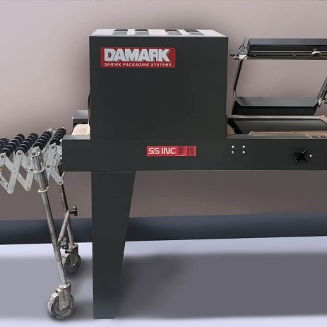 Damark Shrink Wrap machine at Printing Unlimited print shop